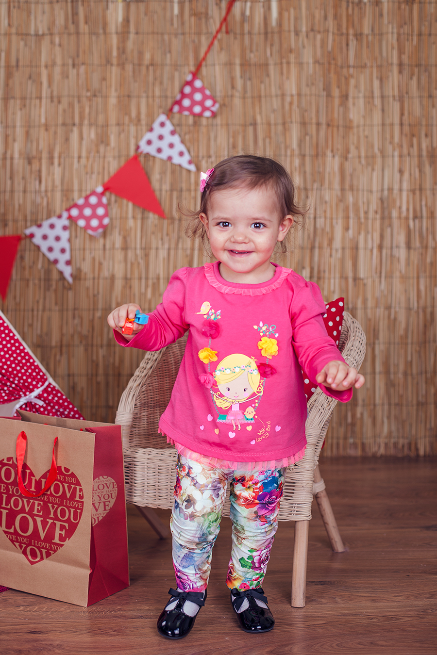 Детска фотосесия на Стефани при фотограф Олга Ташева. Фото студио Варна. Детска, бебешка и семейна фотография - 15526
