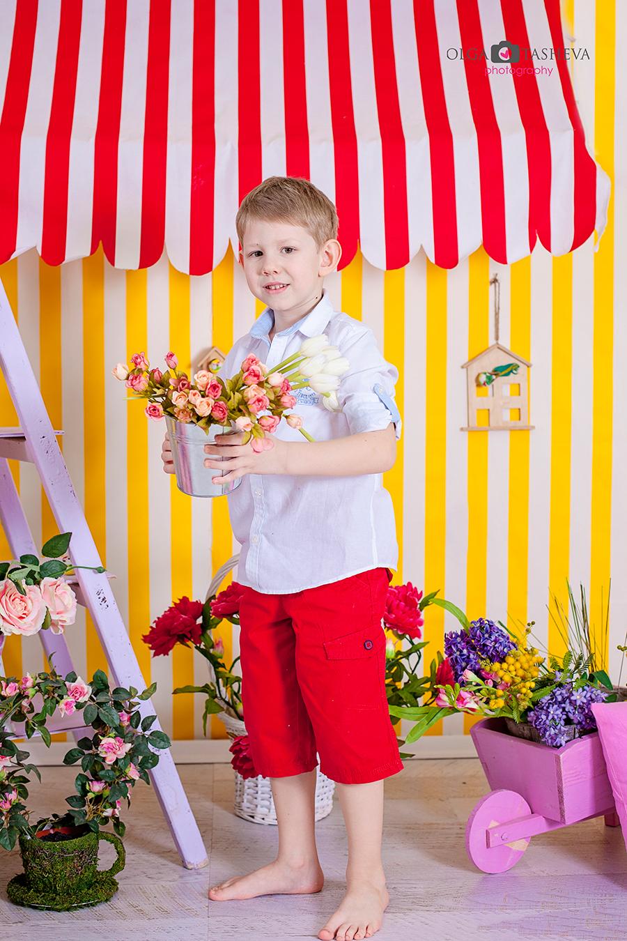 Детска фотосесия на Дечко при фотограф Олга Ташева. Фото студио Варна. Детска, бебешка и семейна фотография. Фотограф Варна - 345436