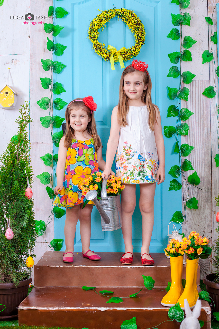Детска фотосесия на Рома и Джиджи при фотограф Олга Ташева. Фото студио Варна. Детска, бебешка и семейна фотография. Фотограф Варна - 23447
