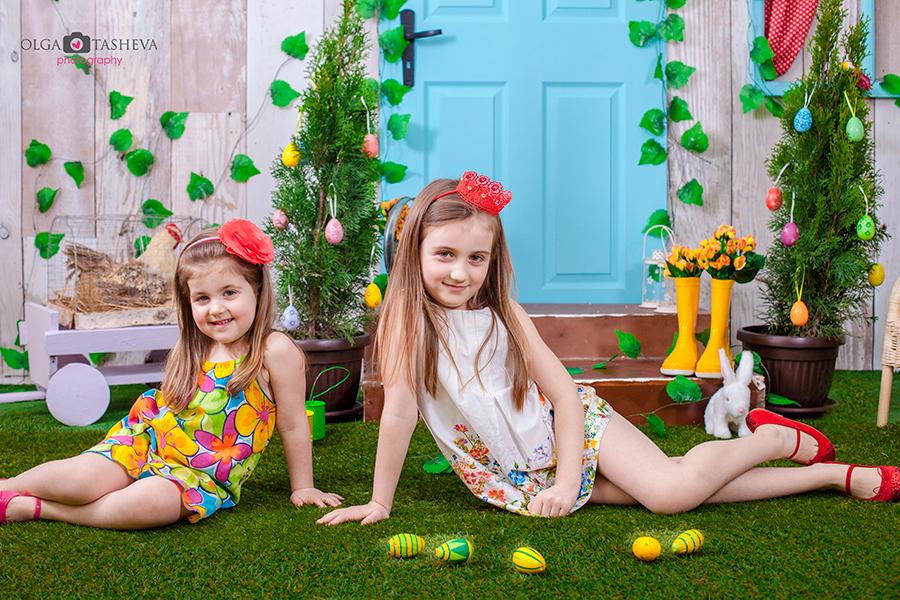 Детска фотосесия на Рома и Джиджи при фотограф Олга Ташева. Фото студио Варна. Детска, бебешка и семейна фотография. Фотограф Варна - 234657