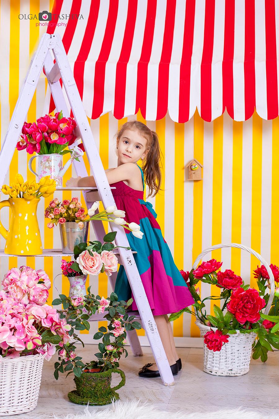 Детска фотосесия на Емир и Хелин при фотограф Олга Ташева. Фото студио Варна. Детска, бебешка и семейна фотография. Фотограф Варна - 564633