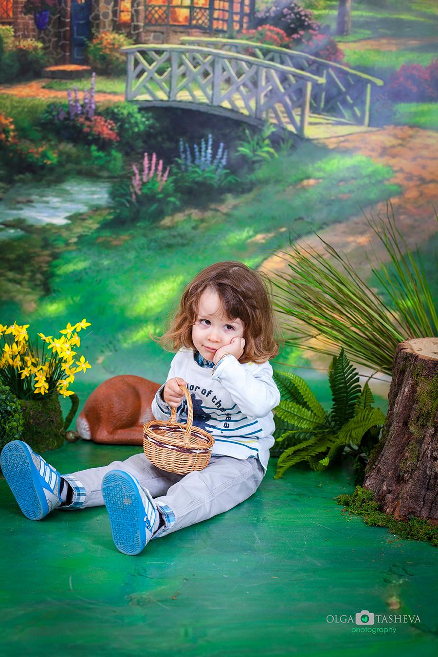 Детска фотосесия на Росиян при фотограф Олга Ташева. Фото студио Варна. Детска, бебешка и семейна фотография. Фотограф Варна - 23323