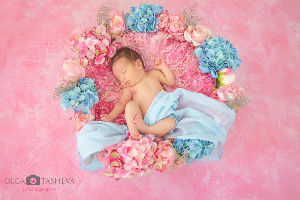 фотограф новородено