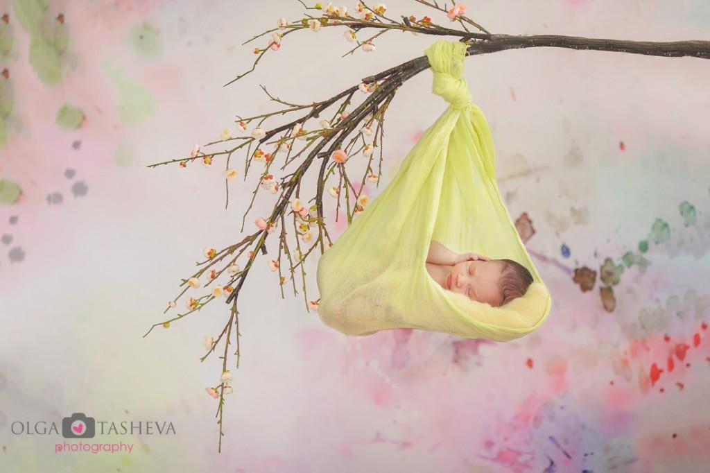 фотосесия новородено варна