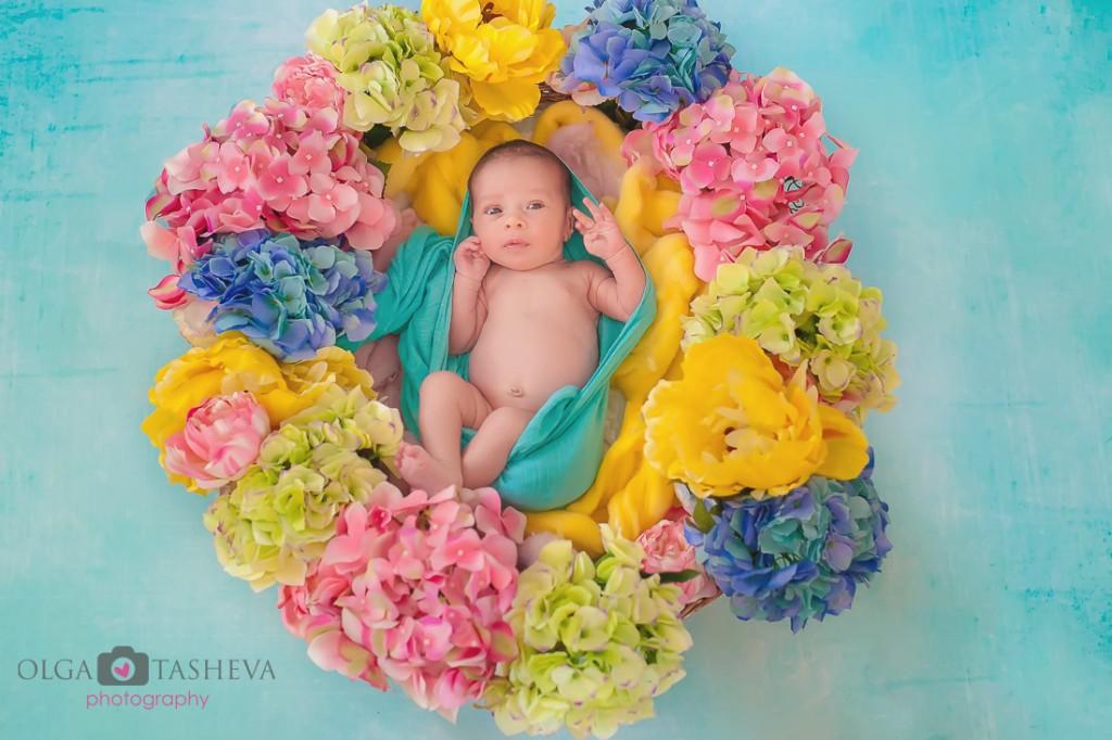 фотосесия новородено