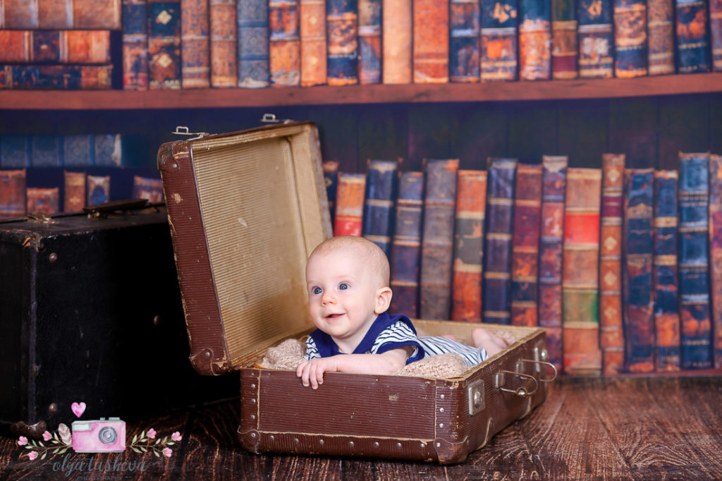 Детски фотограф Варна. Бебешка фотосесия на Йоханес при фотограф Олга Ташева в студио. Бебешка, детска и семейна фотография-78946