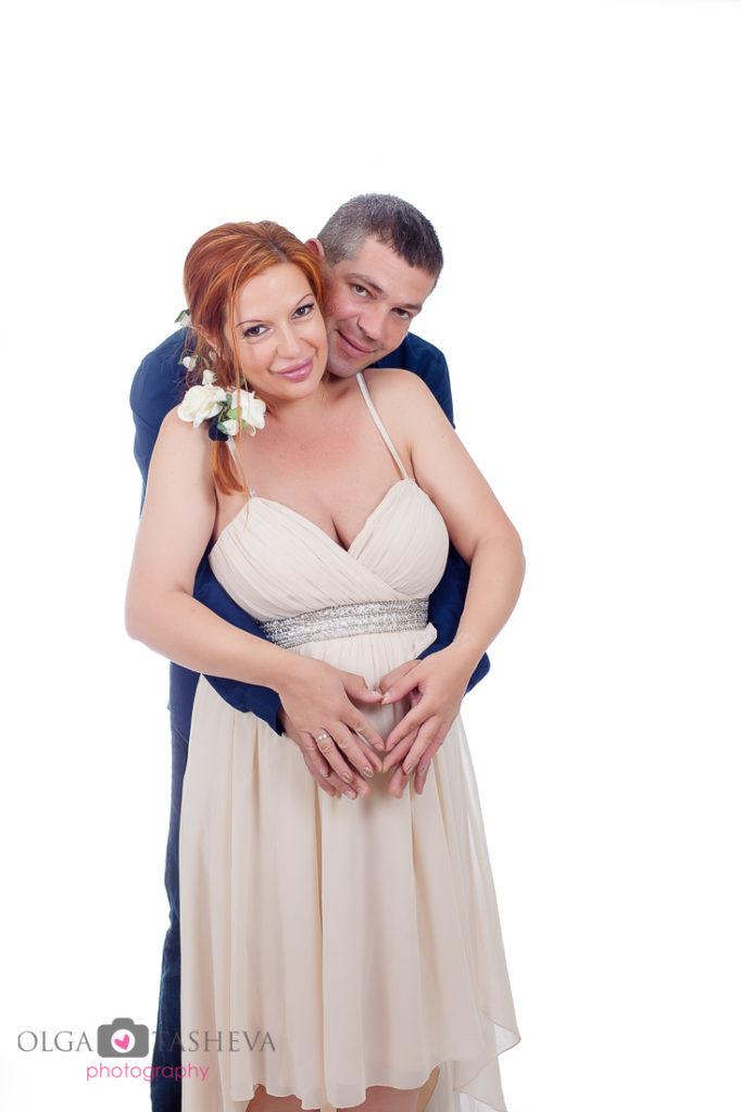 бременна фотосесия