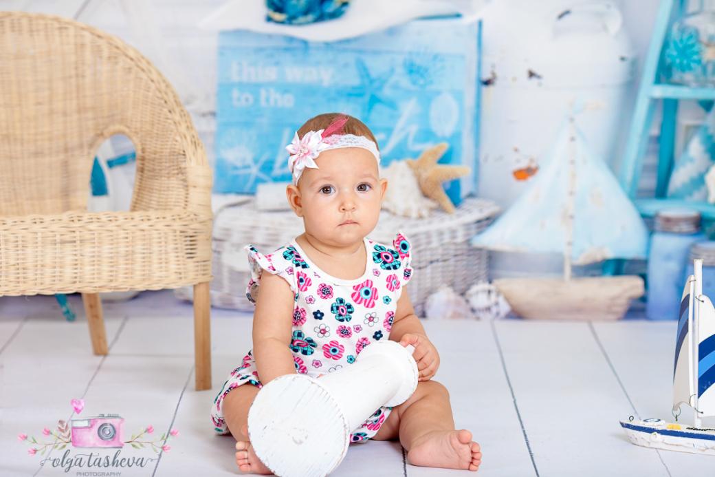 Бебешки фотограф Варна. Бебешка фотосесия на Симона при фотограф Олга Ташева в студио. Бебешка, детска и семейна фотография-2