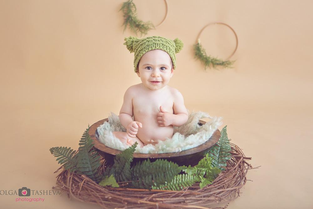 бебешка фотосесия дани